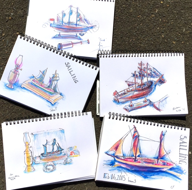 S&F Sailing Sketches