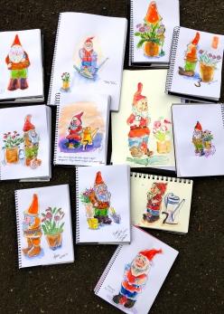 Thursday Gnomes Sketches