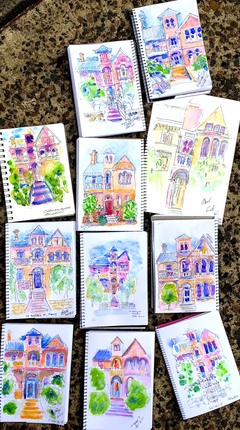 Thursday Home Sketches