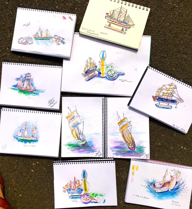 Thursday Sailing & the Sea