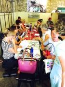 Thursday using colour Showbox Cafe