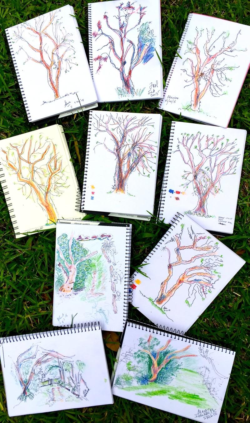 Thursdy Tree shapes