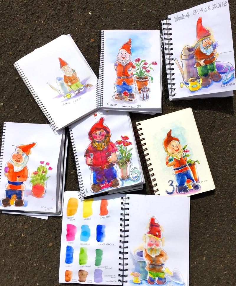 Tuesday gnome in the garden
