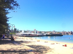 Wednesday at Manly Beach