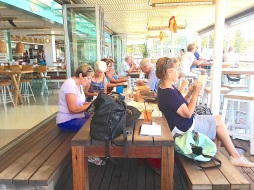 Wednesday at Manly Wharf Hotel