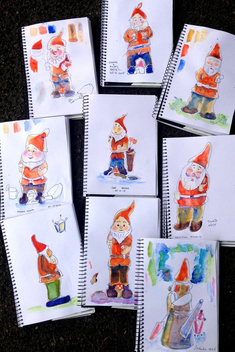 Wednesday gnomes