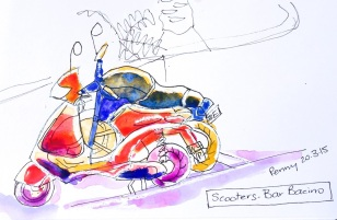 Friday One motorcycle