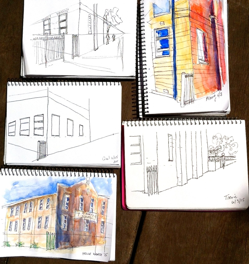 Friday Street sketches