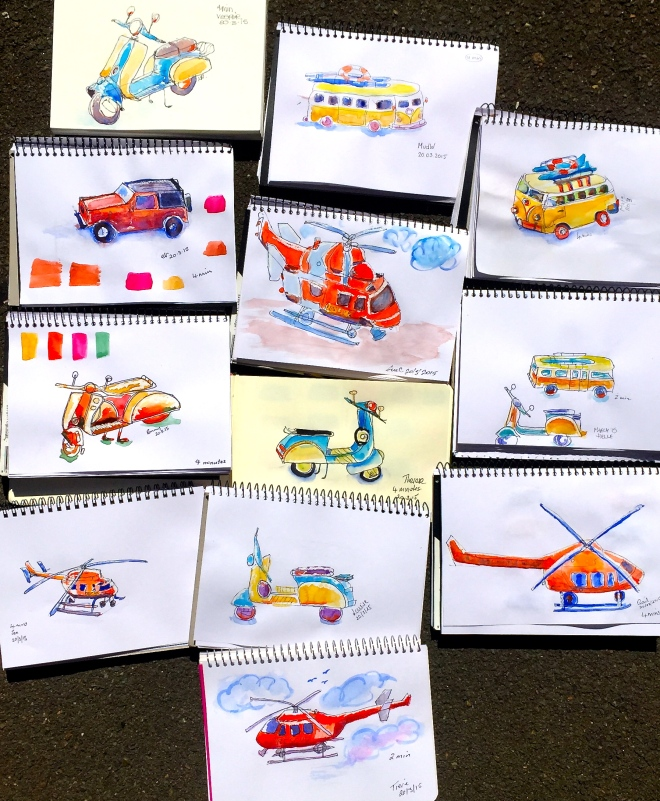 Friday Transport sketches