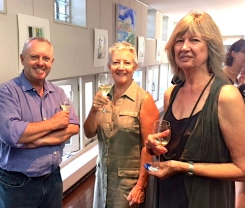 Glenys with Steve & Marilyn