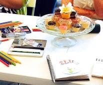 Monday Cake sketches