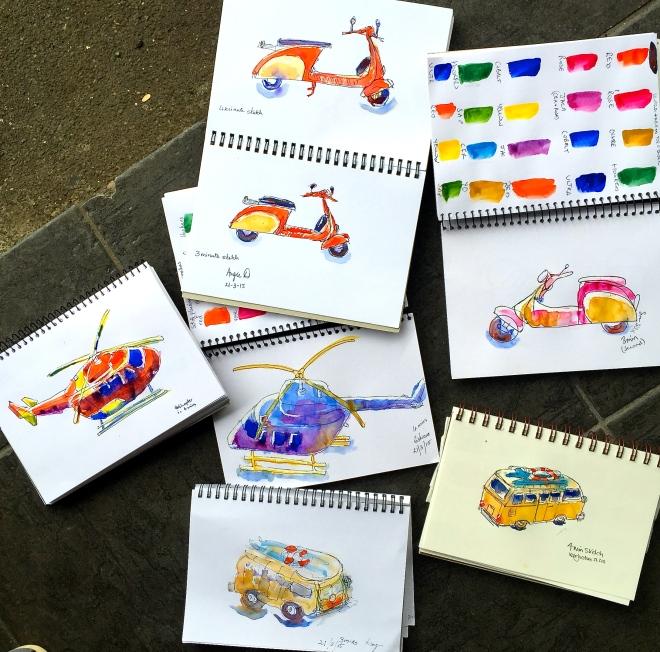 Saturday Studio sketches_4038
