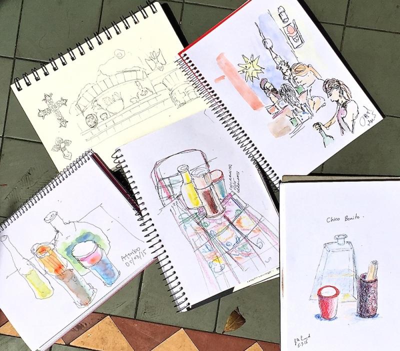 Thursday Chica Bonita sketches