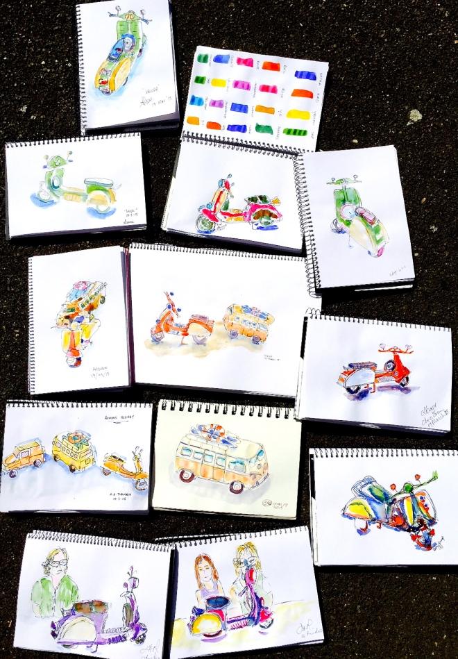 Thursday Studio Sketches