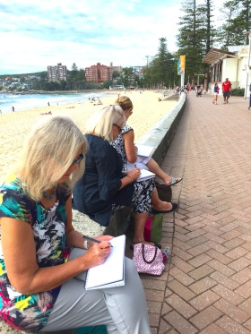 Tuesday along Manly Beach