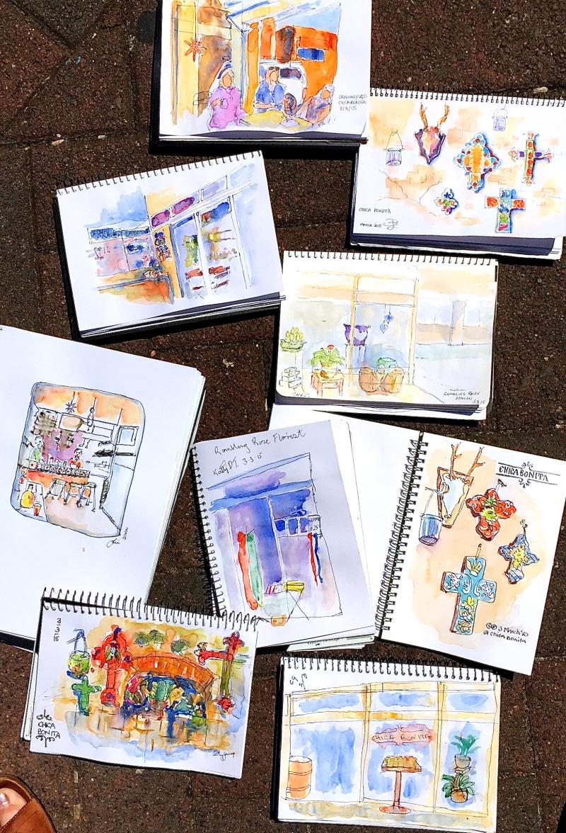 Tuesday Chica Bonita Sketches