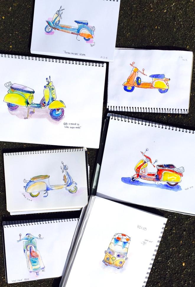 Tuesday Studio Moteor cycles 3835