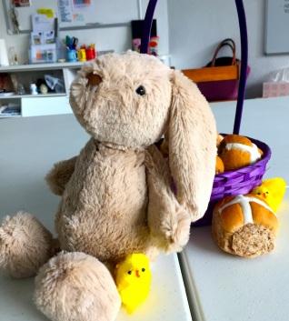 Friday. Easter Rabbit