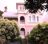 Monday. The Pink House.