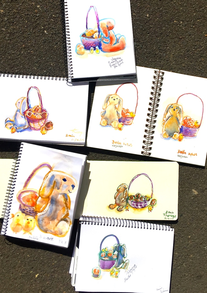Saturday Easter sketches