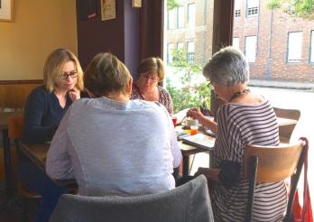 Saturday. Lunch sketch at Cafe interpolitan