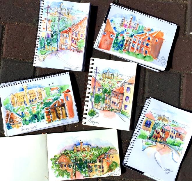 Saturday St Patrick's Sketches