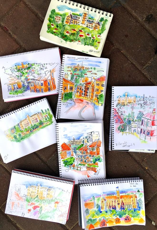 Thursday. St Patricks sketch