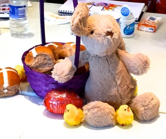 Tuesday. Easter still life