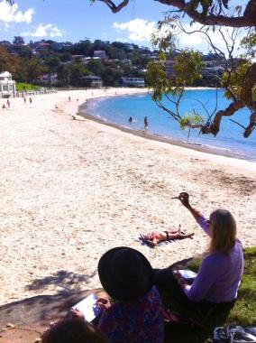 Tuesday Week 10. Balmoral Beach.