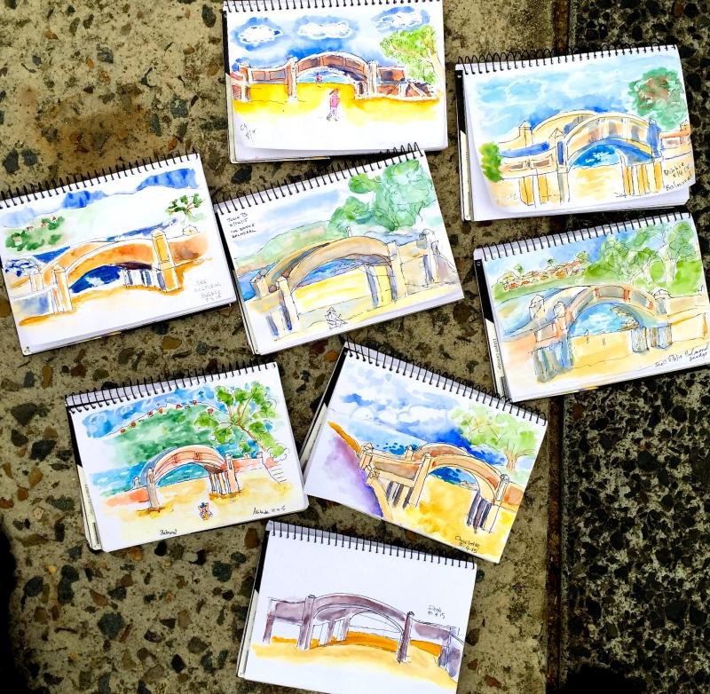 Wednesday week 10. Bridge sketches