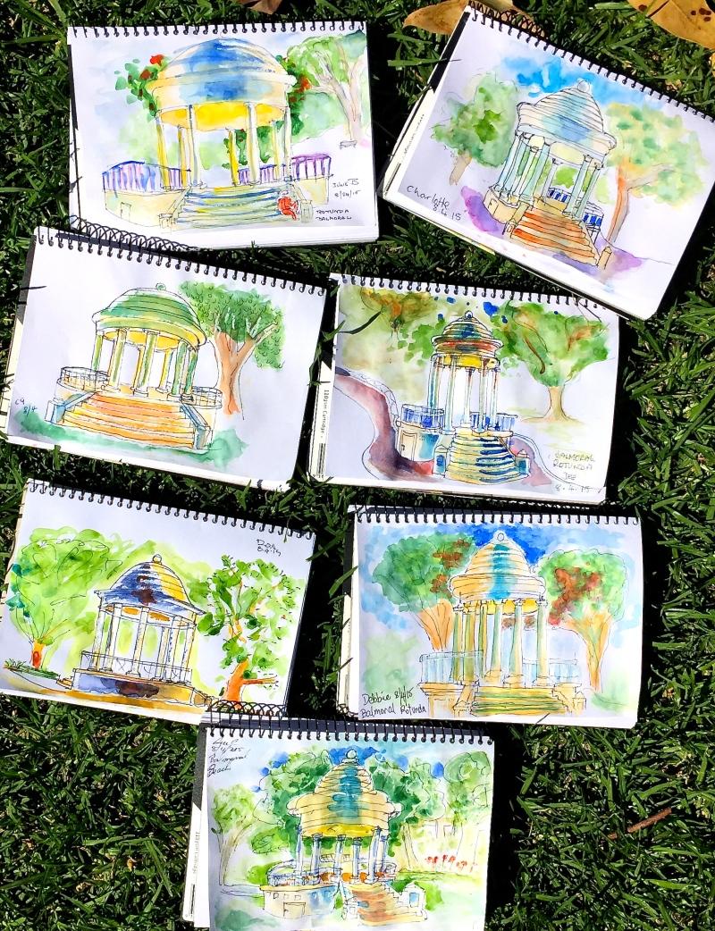 Wednesday Week. Sketches Rotunda
