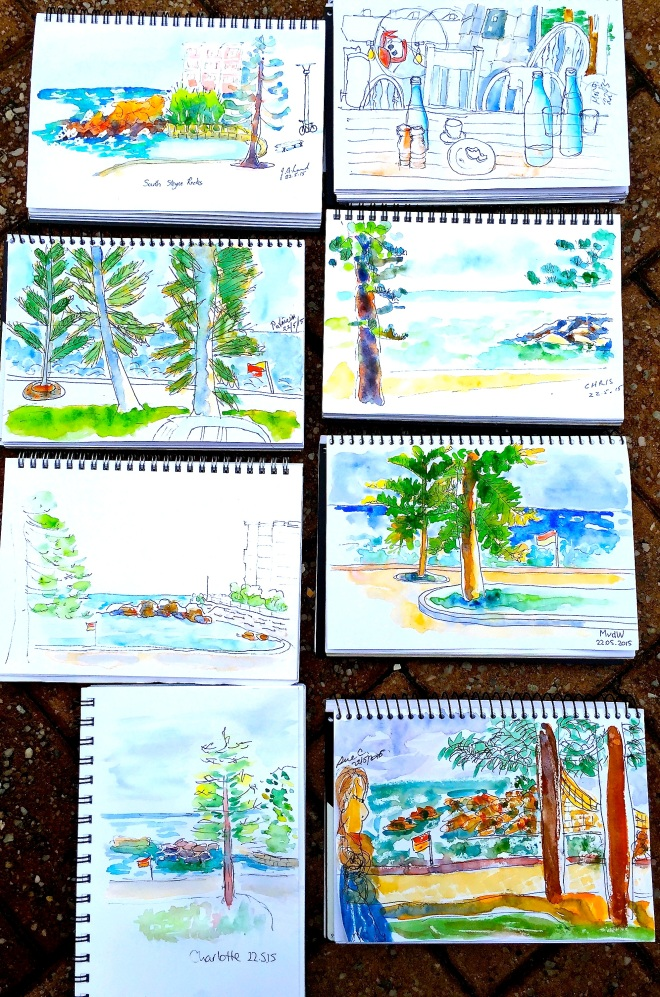 Friday. Beach sketches Image 78