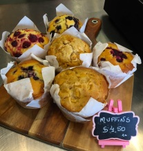 Friday. St Remy Baked Fresh Muffins