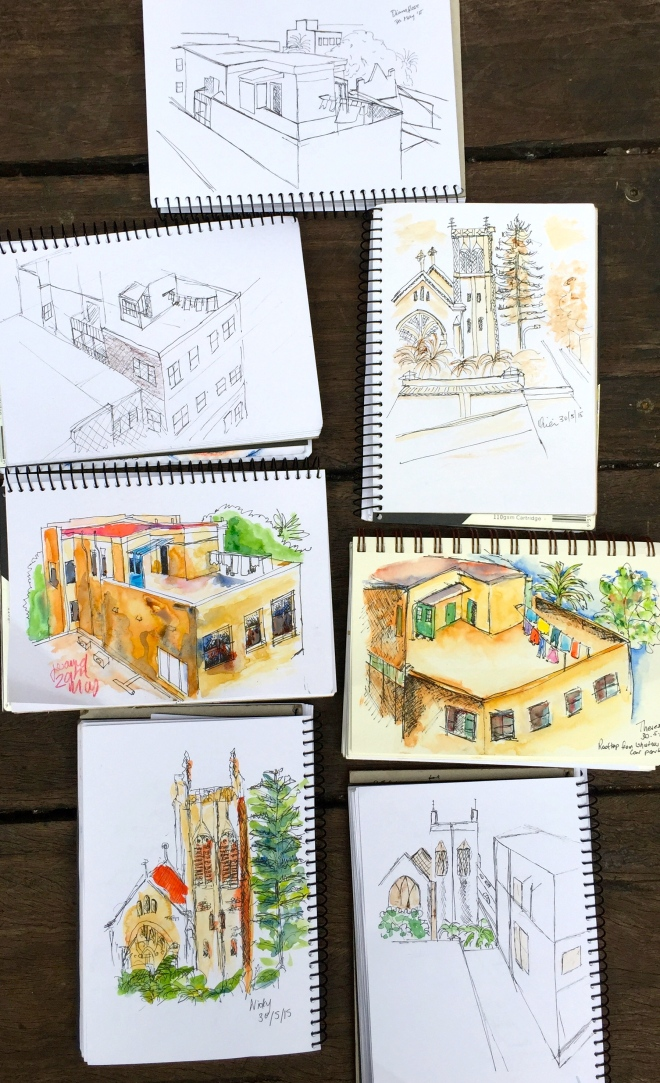 Saturday. Rooftop sketches Image 20