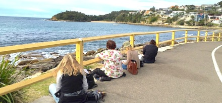 Tuesday. Sea & rocks location