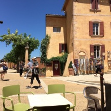 Saturday. Roussillon street
