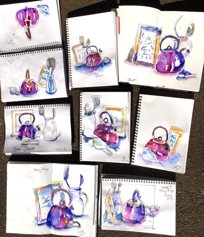 Tuesday. Shiny sketches