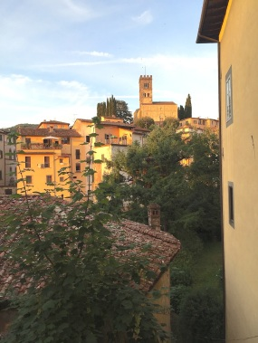 Friday. Barga in the afternoon glow