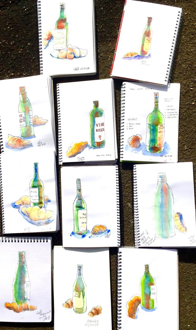 Thursday bottles