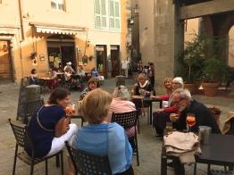 Thursday. Drinks at Giovanis