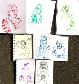 Twig sketching