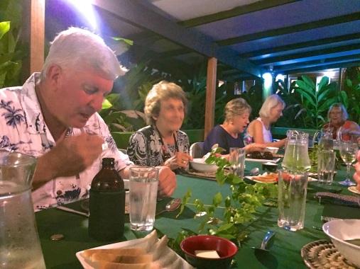 Friday Fiji. Dining together
