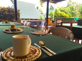 Saturday Fiji. Early coffee
