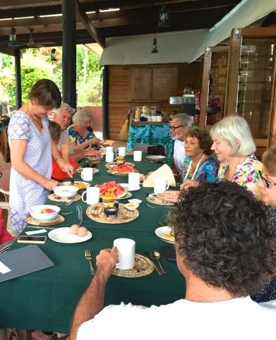 Saturday Fiji Last breakfast together