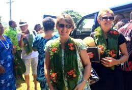 Thursday Fiji Arriving at Naidi Village