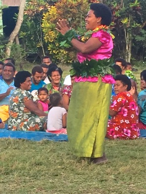 Thursday Fiji. The welcome Meke