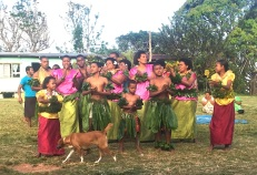 Thursday. Thursday Fiji. Farewell dance