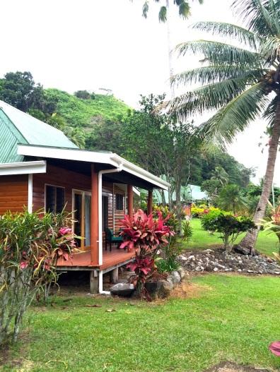 Wednesday Fiji. Bures at Daku