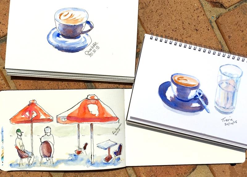 Fri Gen. Cafe sketches
