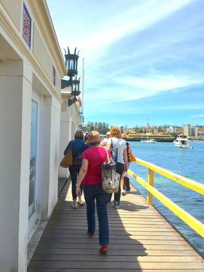 Fri Gen The walkway to Manly